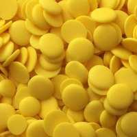 Жълтa глазура на калети - лимон - 200гр. От Секрето 13 ЕООД