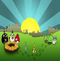 Фото декор за торта - Angry Birds От Секрето 13 ЕООД