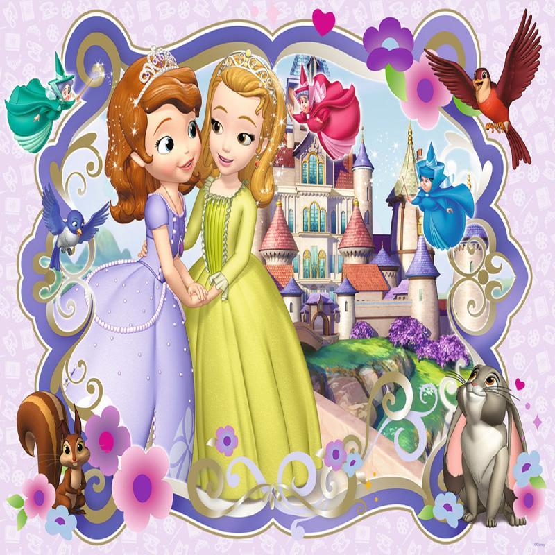 Фото декор за торта - Принцеса София(1357)