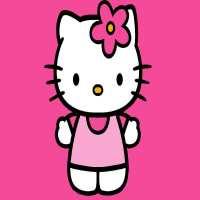 Фото декор за торта - Хелоу Кити ( Hello Kitty) От Секрето 13 ЕООД
