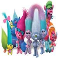 Фото декор за торта - Тролчета (Trolls) От Секрето 13 ЕООД